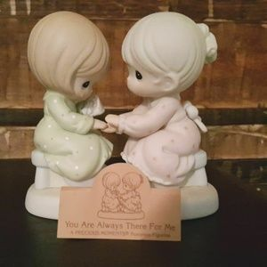 """Precious Moments Figurine """"You Are Always There Fo"""